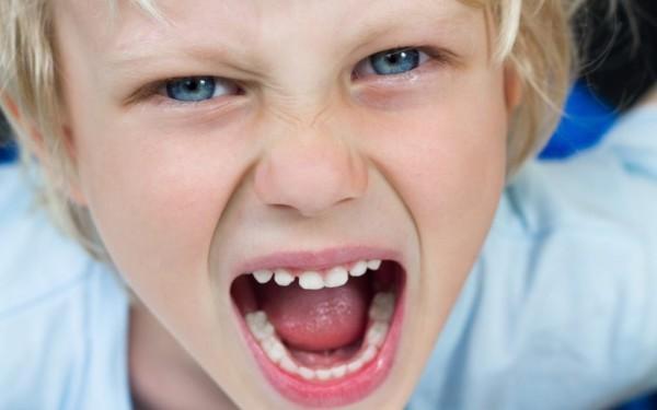 enfant colérique